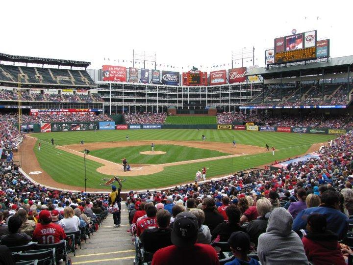 Rangers Ballpark in Arlington - best MLB stadiums 2013