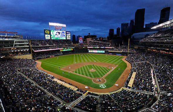 Target Field - best MLB stadiums 2013