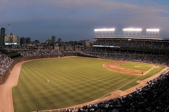 Wrigley Field - best MLB stadium 2013