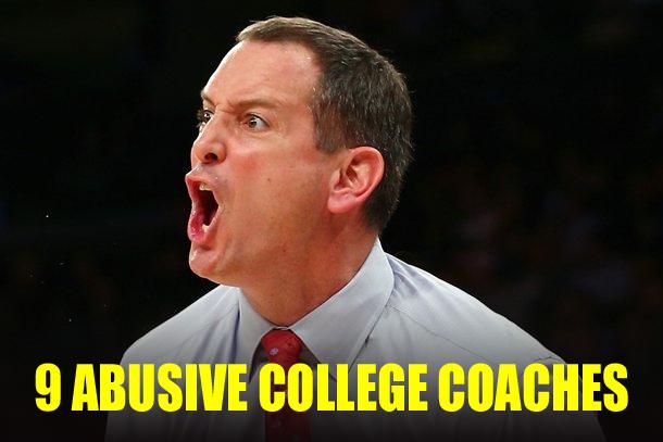abusive college coaches