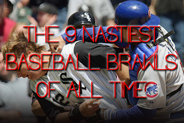 nastiest baseball brawls   time total pro sports