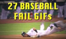 27 Baseball Fail GIFs