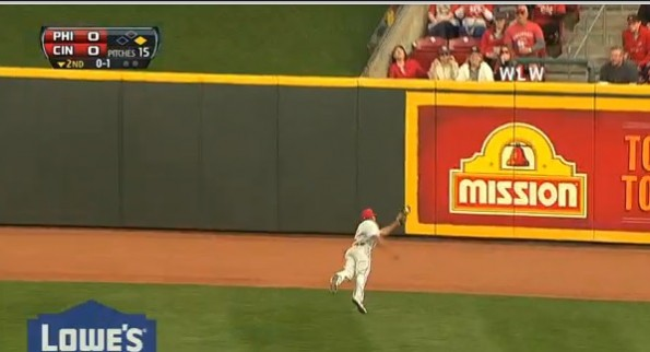 ben revere diving catch