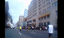 Boston Marathon Explosion: Footage From a Runner's Point of View (Video)