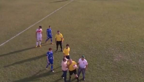 brazilian referee choked by coach