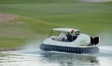 Bubba's Hover: A Golf Cart Hovercraft (Video)