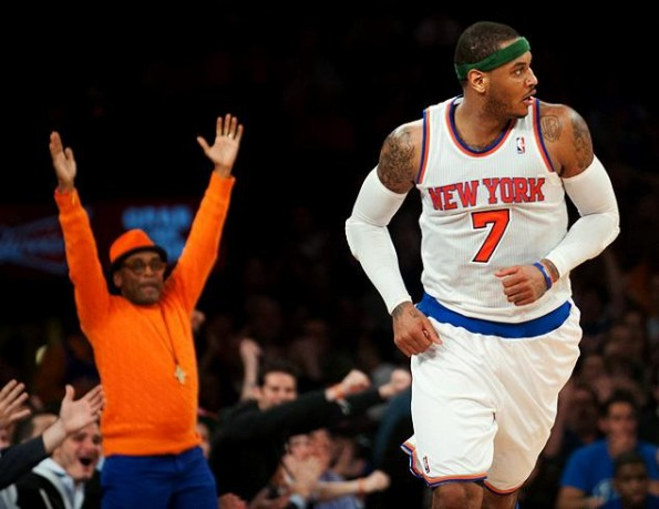 carmelo anthony vs wizards