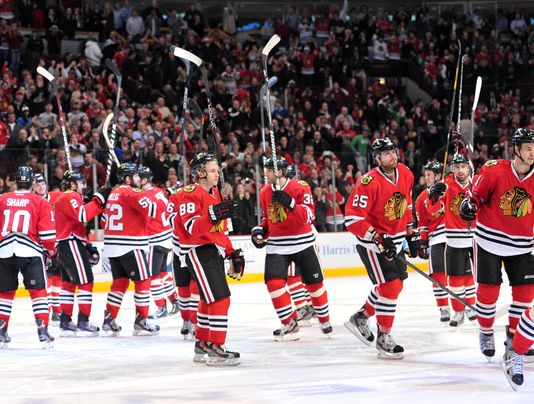 chicago blackhawks 2013 - longest active postseason streaks pro sports
