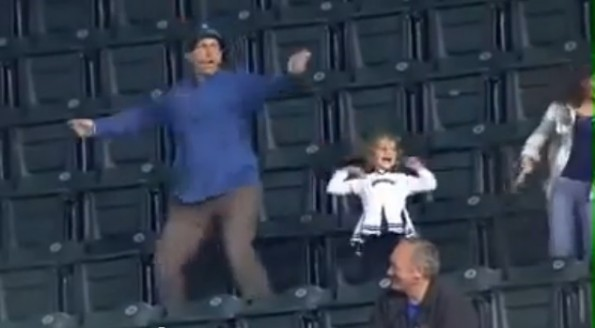 dancing dad seattle mariners