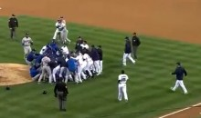 Dodgers-Padres Brawl Leaves Pitcher Zack Greinke with a Broken Collarbone (Video)
