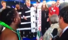 Legendary Boxing Promoter Don King Gets Into Post-Match Fight Outside the Ring (Video)