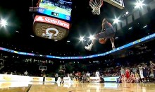 University of Detroit's Doug Anderson Annihilates the Competition at the College Basketball Slam Dunk Contest (Video)