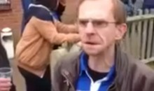This Hilarious Little English Soccer Fan Is Plastered and Ready to Rumble (Video)