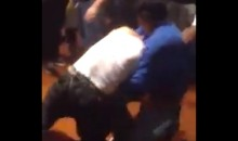 Lakers Lost the Series and This Fan Fight to the Spurs (Video)