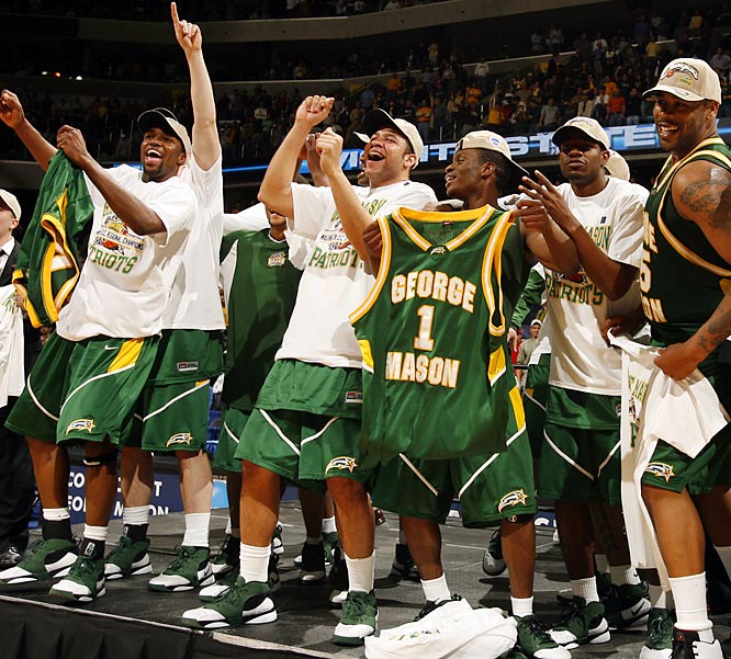 george mason 2006 - unlikely final four teams
