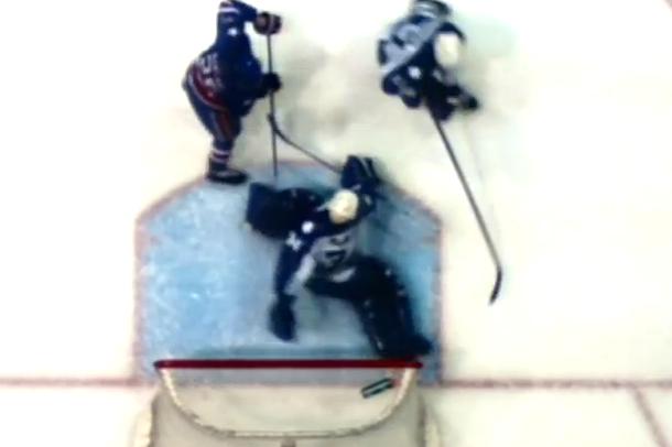incredible behind-the-back save marlies goalie drew mcintyre ahl