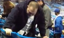 Wasted Jays Fan Barfs All Over Seats, Makes Mom Proud (Video)