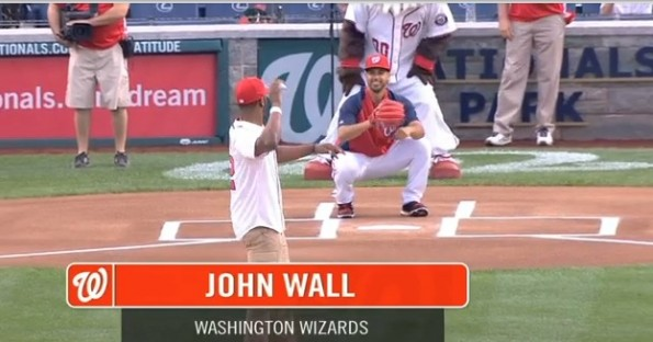 john wall opening pitch