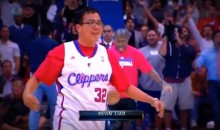 Clippers Fan Hits Half-Court Shot to Win a Car (Video)