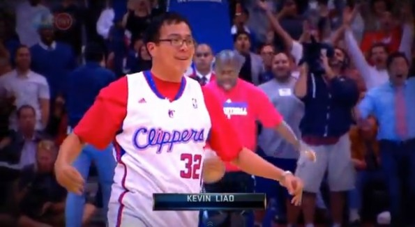 kevin liao dodge dart half-court shot