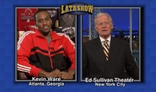 Kevin Ware Presents David Letterman's Top Ten List (Video)