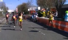 Runner Collides With Wheelchair Athlete During London Marathon (Video)
