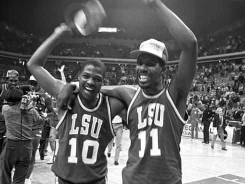 lsu basketball 1986 - unlikely final four teams