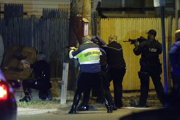 marathon bombing suspects shootout in watertown mass