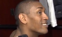 Metta World Peace Is a Big Right Said Fred Fan, Obviously (Video)