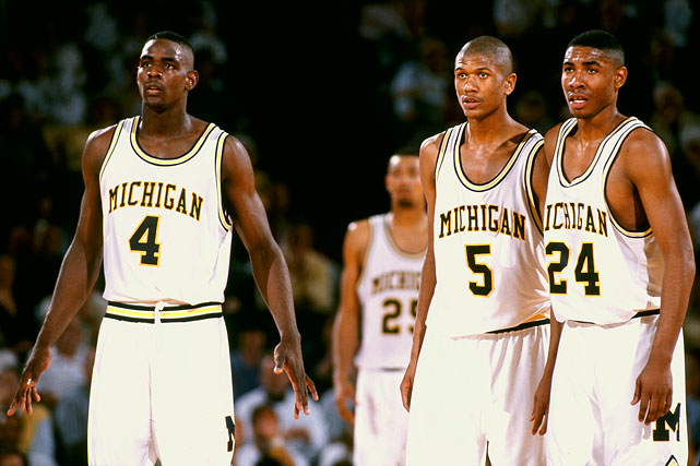 michigan fab five 1992 - unlikely final four teams