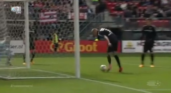 mike van der hoorn own goal