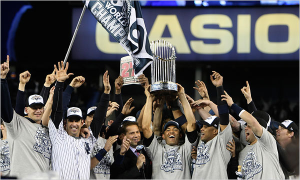 new york yankees 2009 - longest active postseason streaks pro sports