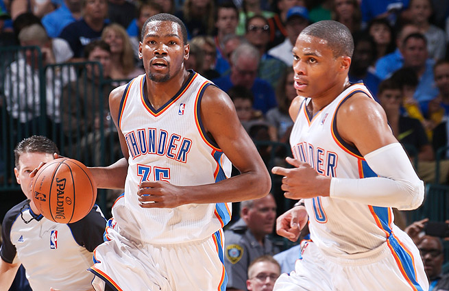 okc thunder - longest active postseason streaks pro sports