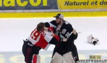QMJHL Playoff Game Ends in Massive Bench-Clearing Brawl (Video)