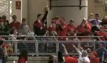 Reds Fan Catches Home Run Ball in One Hand While Holding Infant in the Other (Video)