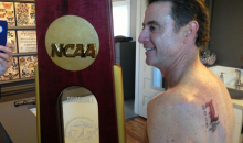 Rick Pitino Makes Good on Promise to Players, Gets Louisville Championship Tattoo (Pics)