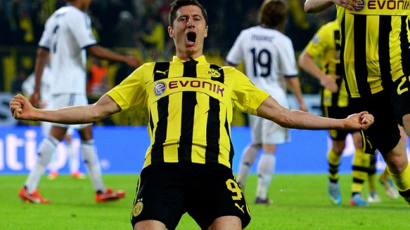 robert lewandowski champions league