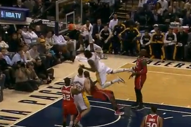 roy hibbert monster jam (pacers vs hawks)