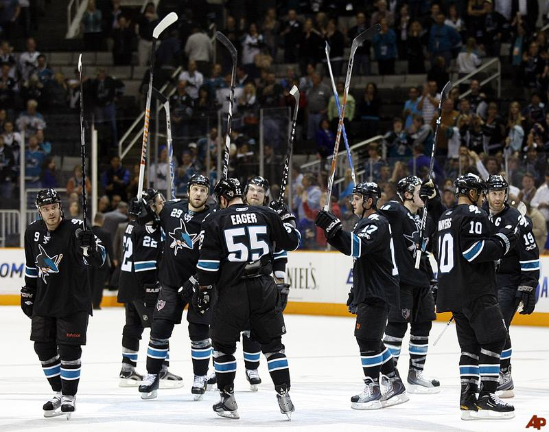 san jose sharks - longest active postseason streaks pro sports