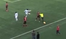 Russian Soccer Ref Attacks Player, Now Banned for Life (Video)