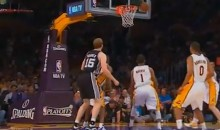 Lakers Fan Really Into Heckling San Antonio's Matt Bonner (Video)
