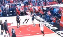 Watch Taj Gibson Posterize Kris Humphries (Video)