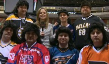 The Jagr Superfans Inducted 'Boston Jagr' Into Their Group Last Night (Video)