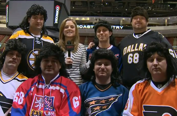 the jags (jaromire jagr super fans)