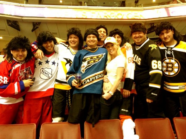 the jags picture with girl with jagr tattoo