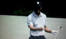 Well That Didn't Take Long: Tiger Woods Drops F-Bomb at The Masters (Video)