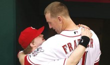 Feel-Good Story: Reds' Todd Frazier Hits a Home Run For Bat Boy With Down Syndrome (Video)