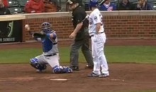 Umpire Balk! Bill Miller Goes to Punch Out Batter, then Changes Mind and Calls a Ball (Video)