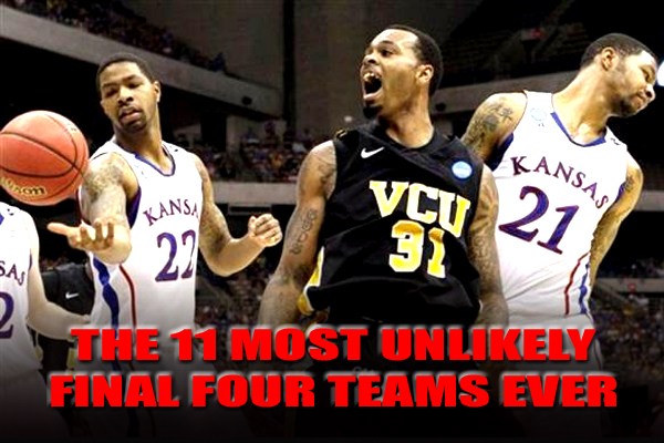 unlikely final four teams
