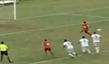 Behold the Worst Penalty Kick of All-Time…For Real This Time (Video)